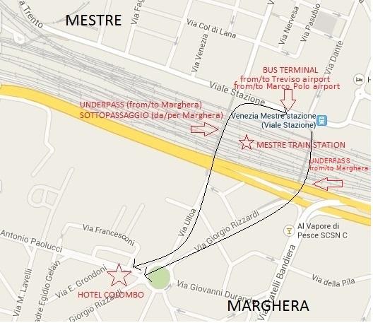 Hotel & Hostel Colombo Map